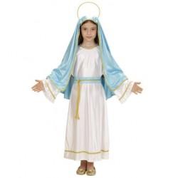 disfraz de la virgen mara para nia