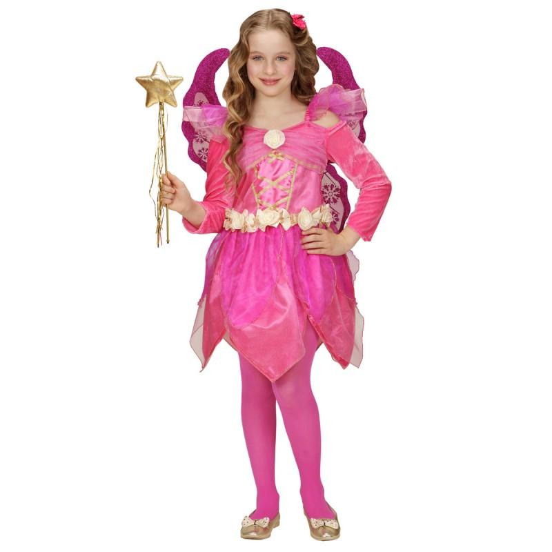 Disfraz De Hada Rosa Para Nina - Disfraz-angel-nia