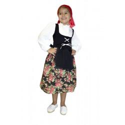 Disfraz de Pastora para niña