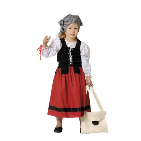 disfraz de pastora para nia y beb