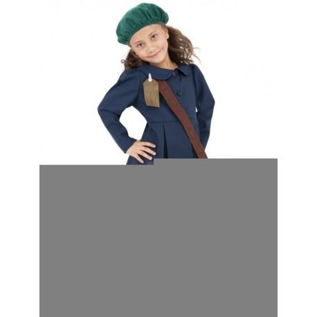 disfraz evacuada de la segunda guerra mundial para nia