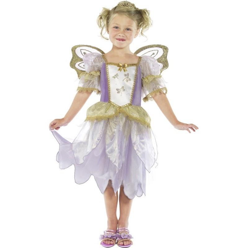 Disfraz De Princesa Hada Para Nina - Disfraz-angel-nia